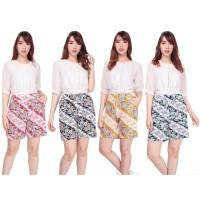 SB Collection Celana Pendek Relia Hotpants Jumbo Batik Casual Wanita