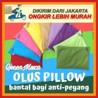 Olus Pillow Bantal Bayi Anti Peyang - Bantal Kacang Hijau Original