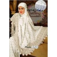 LVR MUKENA SUTRA DUBAI PRADA setelan pakaian muslim wanita baju sholat