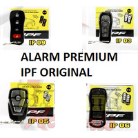 Alarm Mobil Universal IPF Original Remote Sliding Premium Tuk Tuk