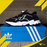 Adidas Ozweego Black Solar Green / Adidas Ozweego / Adidas Sneakers
