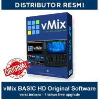 VMIX BASIC HD ORIGINAL SOFTWARE