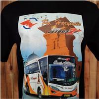 Kaos Bus Warna Po Haryanto Baju Bus Hitam Santri Mbilong