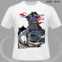 Kaos Bus Po Haryanto Baju Bis Shd Tshirt HR-42
