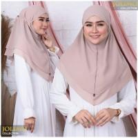 KHIMAR TALI Ceruti - Jilbab Harian Hijab Instant Remaja 2 Layer