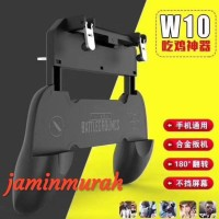BARANG BAGUS GAMEPAD W10 PUBG JOYSTICK ALL IN 1 JEMPOLAN