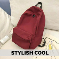 Tas ransel polos / tas kanvas / tas canvas polos / tas backpack polos