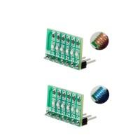 Baru Papan Modul LED Multiwarna DC 3-12V 6 Bit untuk Arduino Due