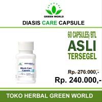 JUAL Green World Diasis Care Capsule - Obat herbal untu