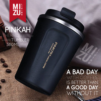 Pinkah Coffee Tumbler Thermos Mug 380ml Hot Cold Stainless Steel Cup