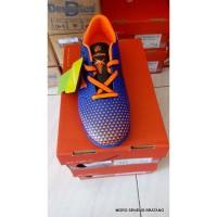 Sepatu FUTSAL ARDILES shuriken 0001 Tanggung 35 36 37 oranye biru
