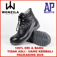 Wonzila Sepatu Safety AP MAX By AP Boots Low Safety Boots Pria Outdoor