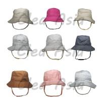 Grosir TOPI RIMBA Bucket Hat Premium Topi Gunung Mancing Polos - TOPI RIMBA