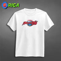 Kaos Premium - Ultraman R/B Logo - ORIGA 0334 - Cartoon - Putih, S