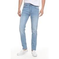 2Nd RED Jeans Pria Premium Celana Jeans Slim Fit Melar Biru Muda133266