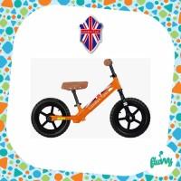 Sepeda Keseimbangan | Balance Bike - London Taxi - KickBike (Orange)
