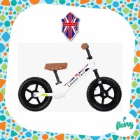 Sepeda Balance Bike - London Taxi - Kick Bike (White)