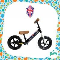 Sepeda Keseimbangan | Balance Bike - London Taxi - KickBike (Black)
