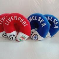 Bantal Leher Liverpool dan Chelsea