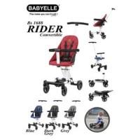 Makassar - Babyelle Rider Convertible Baby Elle Stroller Board Cabin S - Biru