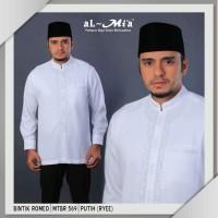 baju koko al mia MT (kualitas di atas premium) manset (kancing)