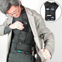 Hidden Oxter Invisible Crossbody Storage Bag - Tas Selempang Teraman