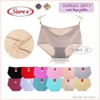 Celana Dalam Wanita Sorex Seamless Tanpa Jahitan Pori 225 FIT TO XXL