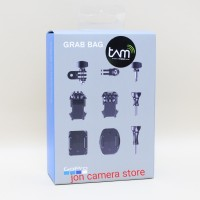 gopro grab bag original mounting buckle/3-way pivot arm/thumb screw