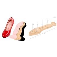 Insole sepatu kebesaran cushion anti nyeri/lecet