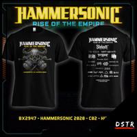 Kaos Baju Distro Konser Musik Metal Hammersonic Hamersonic Hitam 2947