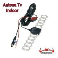 Antena TV Mobil Indoor Bahan Mika [DF CAR AUDIO]