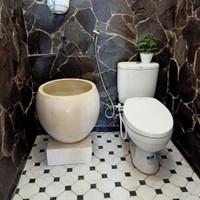 bak mandi bakul putih gading