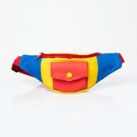 Kokkakuma - Postman Fannypack Mini Tas Pinggang Kanvas Unisex