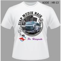 Kaos Bis Haryanto Baju Haryanto Bus HR-13