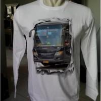 Kaos Bus Baju Bis Tangan Panjang Putera Mulya Haryanto