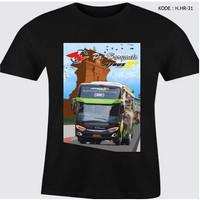 Kaos Bus Warna Po Haryanto Baju Hitam Bus Haryanto HHR-31