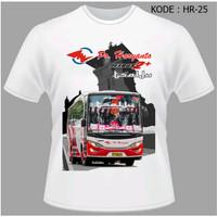 Kaos Bus Po Haryanto Bus Tsalju Tshirt Salju Baju Bis Mania HR-25