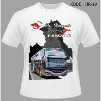 Kaos Bis Po Haryanto Bus HDD Pragolo Baju Jetbus Tshirt Busmania HR-19