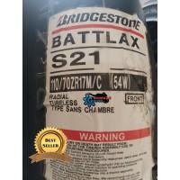 Ban Bridgestone Battlax S21 110/70 - 17 & 150/60 - 17 Ninja CBR R25