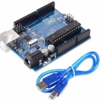 Arduino uno r3 Dip ic atmega 328 16u2 ori version + kabel