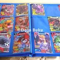 HOT SALE Buku Album Kartu Animal Kaiser 144 Kartu Ukuran Besar 23 x 29