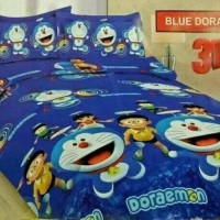 Bad Cover Set Bonita - Bed Cover 180x200 king - Bedcover doraemon -