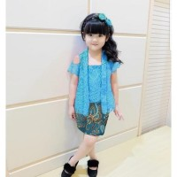 Setelan Baju Kebaya Nabila Anak Perempuan Cantik Usia 2 - 6 Tahun