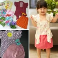 Set Kutu Baru Anak Perempuan/Baju Kebaya Anak/Setelan Kutu Baru Anak