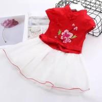 CH1908 Dress Cheongsam Qipao Imlek Kostum Shanghai Baju China Anak Per