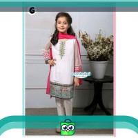 Promo baju muslim anak perempuan - setelan india anak senshukei 17