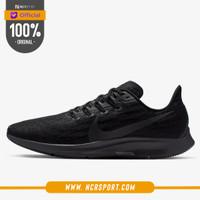 Sepatu Lari Nike Air Zoom Pegasus 36 Black Oil Grey Original AQ2203-00