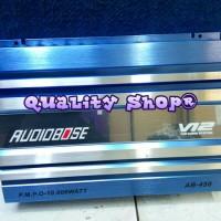power audiobose v12 4 channel 8000 watt baru Terbaik
