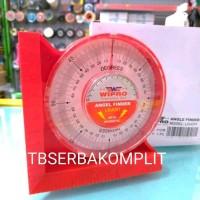 Dial Magnet Waterpass Degree Busur Derajat Angle Level Finder Meter