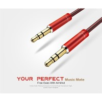 Kabel AUX Audio Plug 3.5mm 1 Meter Original LDNIO LS-Y01
